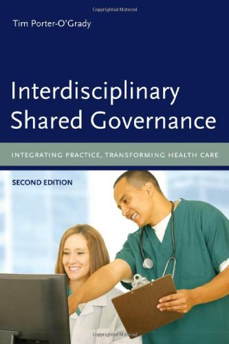 Interdisciplinary Shared Governance Integrating Practice, Transforming Health Care 2nd 2009 (Revised) edition cover