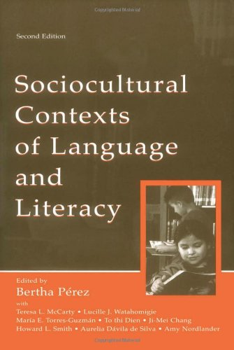 Sociocultural Contexts of Language and Literacy  2nd 2004 (Revised) edition cover