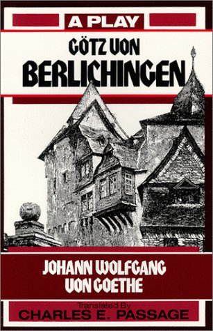 G�tz Von Berlichingen A Play Reprint  9780881335415 Front Cover