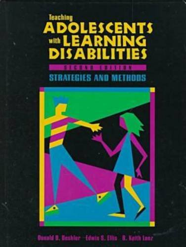 Teaching Adolescents with Learning Disabilities Strategies and Methods 2nd 1996 edition cover