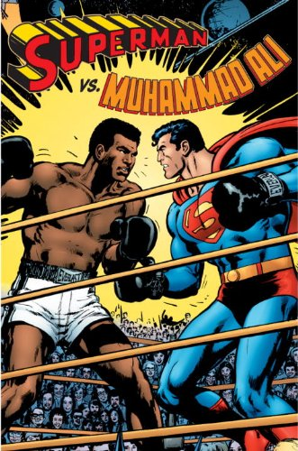 Superman vs. Muhammad Ali, Deluxe Edition   2010 (Deluxe) 9781401228415 Front Cover
