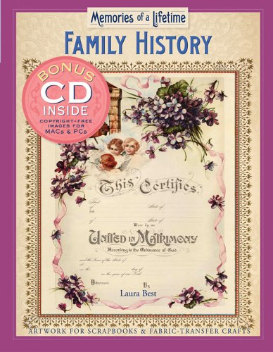 Family History Artwork for Scrapbook and Fabric-Transfer Crafts  2006 9781402726415 Front Cover