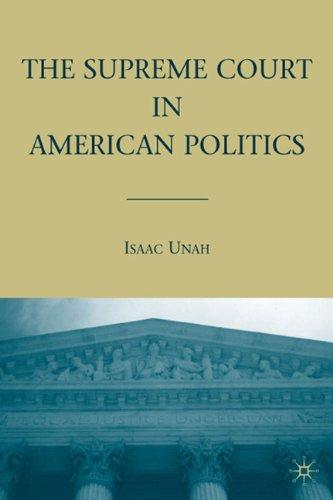 Supreme Court in American Politics   2009 edition cover