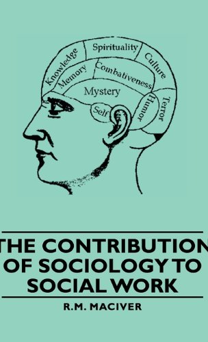 Contribution of Sociology to Social Work   2011 9781406760415 Front Cover