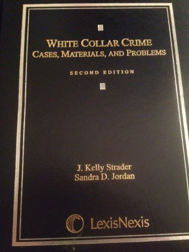 White Collar Crime (Casebook)  N/A edition cover