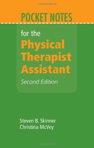Pocket Notes for the Physical Therapist Assistant  2nd 2013 edition cover