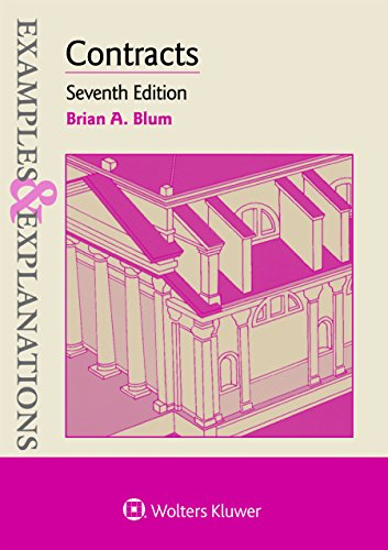 Examples & Explanations for Contracts:   2017 9781454868415 Front Cover