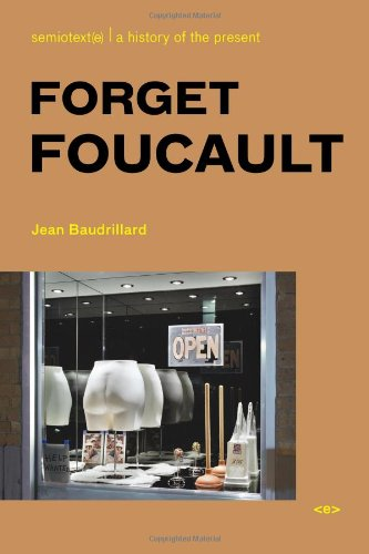 Forget Foucault   2007 edition cover