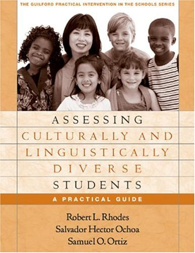 Assessing Culturally and Linguistically Diverse Students A Practical Guide  2005 edition cover