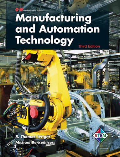 Manufacturing and Automation Technology  3rd 2012 edition cover