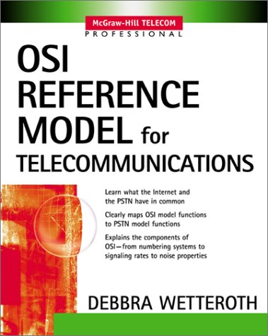 OSI Reference Model for Telecommunications   2002 9780071380416 Front Cover