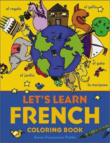 Let's Learn French Coloring Book   2003 9780071421416 Front Cover