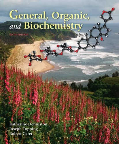 General, Organic and Biochemistry  6th 2008 edition cover