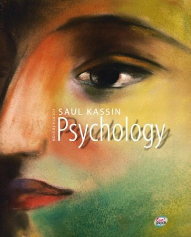 Psychology  4th 2004 9780130496416 Front Cover