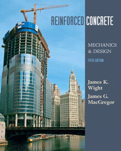 Reinforced Concrete Mechanics and Design 5th 2009 edition cover