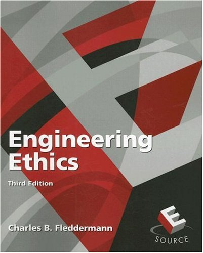 Engineering Ethics  3rd 2008 edition cover