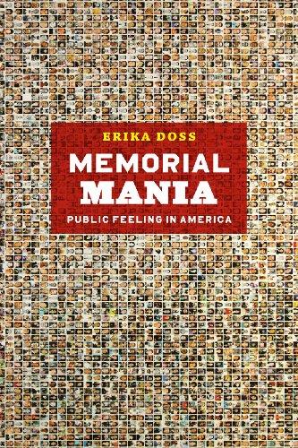 Memorial Mania Public Feeling in America  2012 edition cover