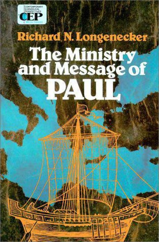 Ministry and Message of Paul   1971 edition cover