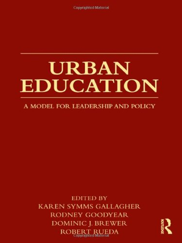 Urban Education A Model for Leadership and Policy  2012 edition cover