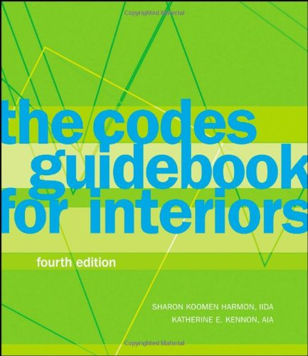 Codes Guidebook for Interiors  4th 2008 9780470149416 Front Cover