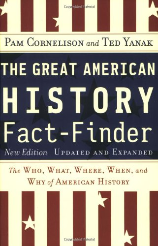 Great American History Fact-Finder The Who, What, Where, When, and Why of American History 2nd 2004 (Revised) edition cover