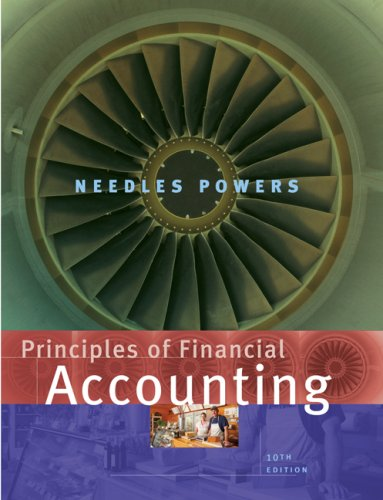 Principles of Financial Accounting  10th 2008 9780618736416 Front Cover
