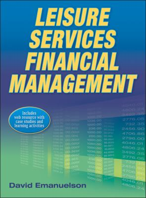 Leisure Services Financial Management   2013 edition cover
