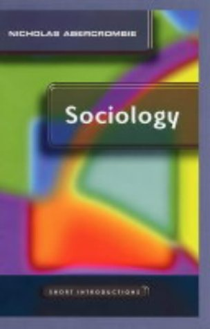 Sociology   2004 9780745625416 Front Cover