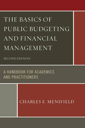 Basics of Public Budgeting and Financial Management A Handbook for Academics and Practitioners 2nd edition cover