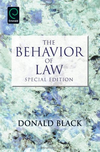 Behavior of Law Special Edition  2010 edition cover