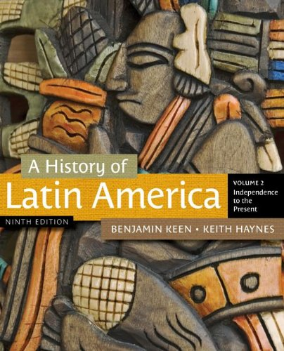 History of Latin America Independence to the Present 9th 2013 edition cover