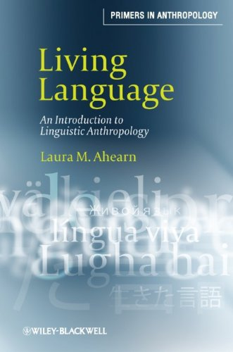 Living Language An Introduction to Linguistic Anthropology  2011 edition cover