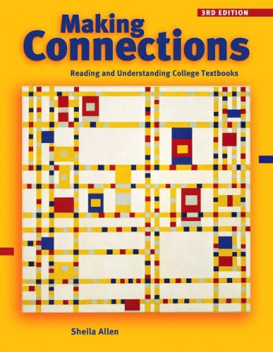 Making Connections Reading and Understanding College Textbooks 3rd 2005 (Revised) edition cover