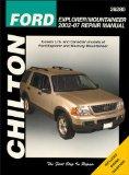 Chilton Repair Manual Ford Explorer & Mercury Mountaineer 2002- 2007:  2009 edition cover