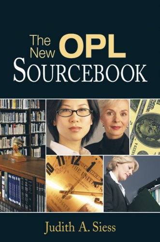 New OPL Sourcebook : A Guider for Solo and Small Libraries 1st 2005 edition cover