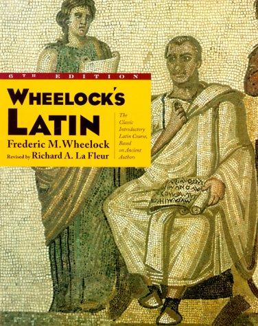 Wheelock's Latin  6th 2000 edition cover
