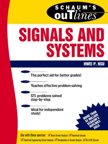 Schaum's Outline of Signals and Systems   1995 edition cover