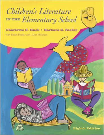 Children's Literature in the Elementary School with Litlinks 8th 2004 edition cover
