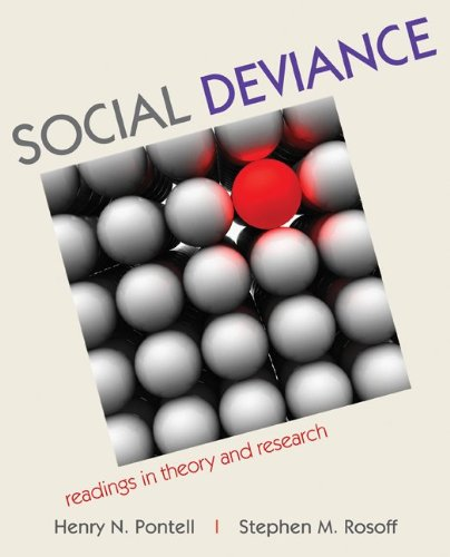 Social Deviance Readings in Theory and Research  2011 edition cover