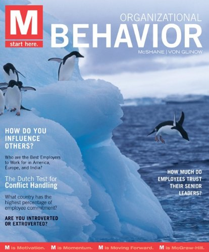 Organizational Behavior   2012 edition cover