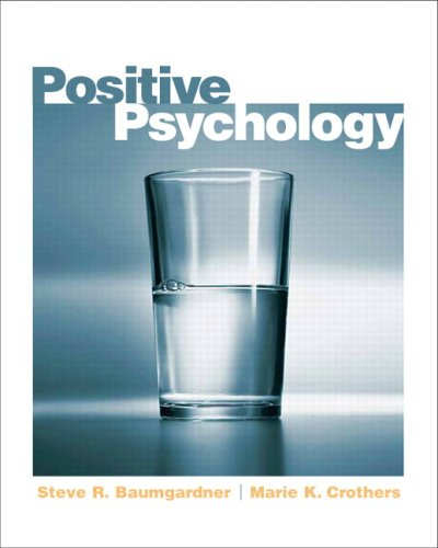 Positive Psychology   2009 edition cover