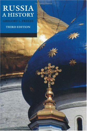 Russia A History 2nd 2009 (Revised) edition cover