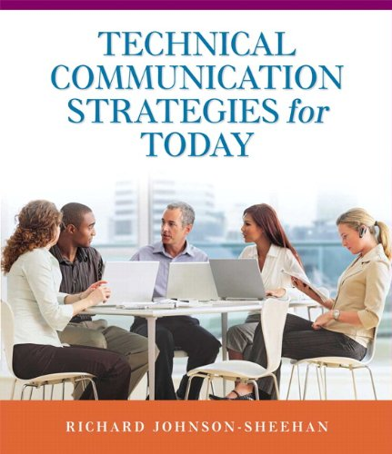 Technical Communication Strategies for Today   2011 (Brief Edition) edition cover