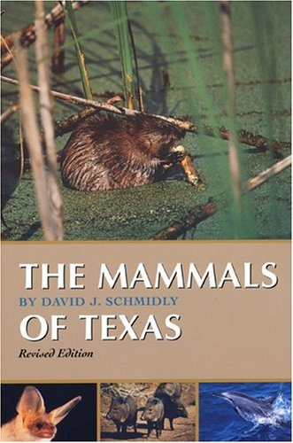 Mammals of Texas  2nd 2004 (Revised) edition cover