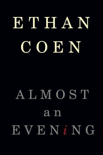 Almost an Evening   2009 edition cover