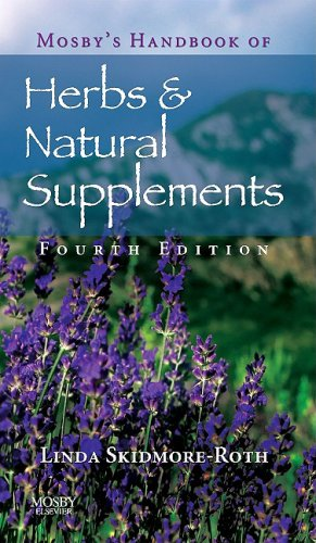 Mosby's Handbook of Herbs and Natural Supplements  4th 2009 edition cover