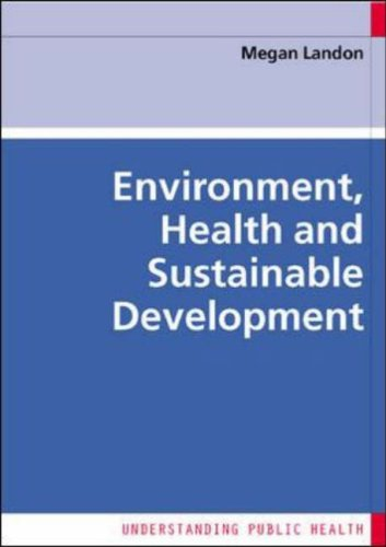 Environment, Health and Sustainable Development   2006 9780335218417 Front Cover