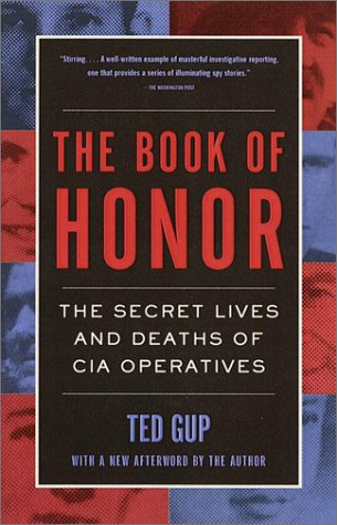 Book of Honor The Secret Lives and Deaths of CIA Operatives  2001 (Reprint) edition cover