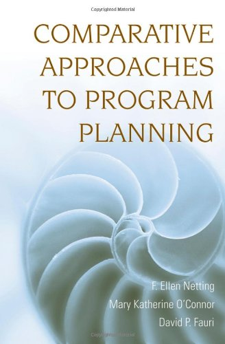 Comparative Approaches to Program Planning   2008 edition cover