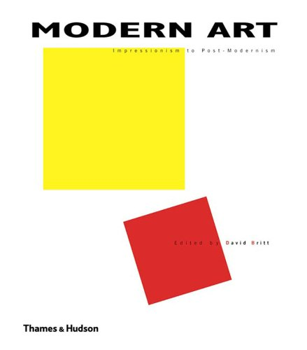 Modern Art Impressionism to Post-Modernism  2007 edition cover